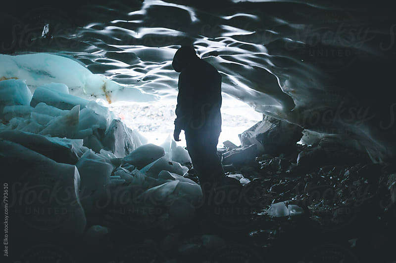 Ice Cave Man 3 by Jake Elko for Stocksy United