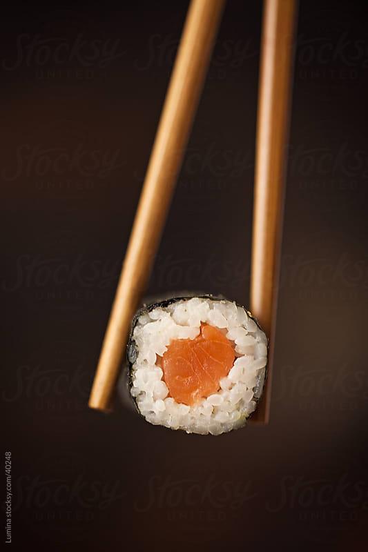 Maki Sushi Roll by Lumina for Stocksy United