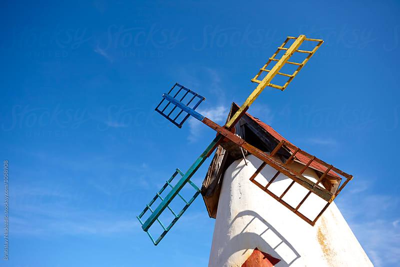 Old windmill by Bratislav Nadezdic for Stocksy United