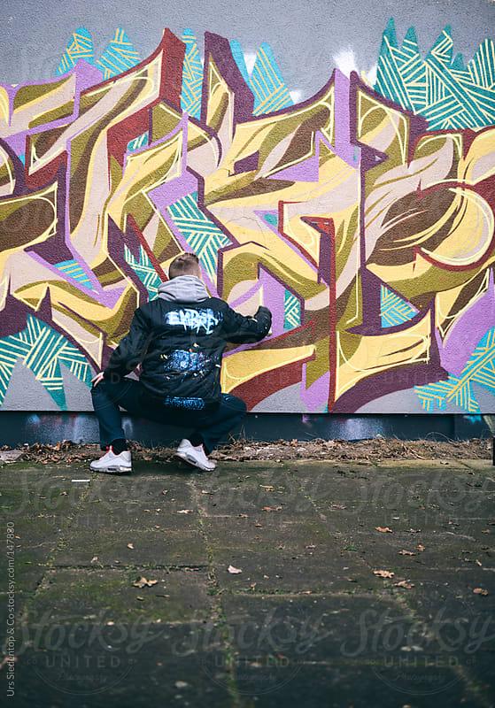 Graffiti Artist by Urs Siedentop & Co for Stocksy United