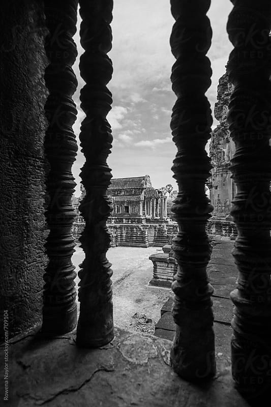 Angkor Wat, Cambodia by Rowena Naylor for Stocksy United