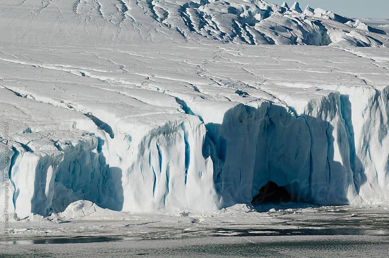Glacier edge and sea ice, Antarctica. by Thomas Pickard Photography Ltd. for Stocksy United
