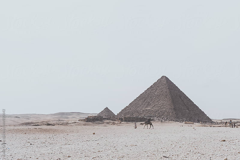 The Giza Pyramids by Luke Gram for Stocksy United