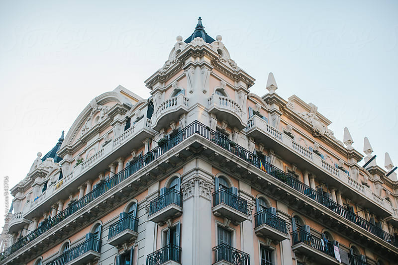 Building in Barcelona by Zocky for Stocksy United