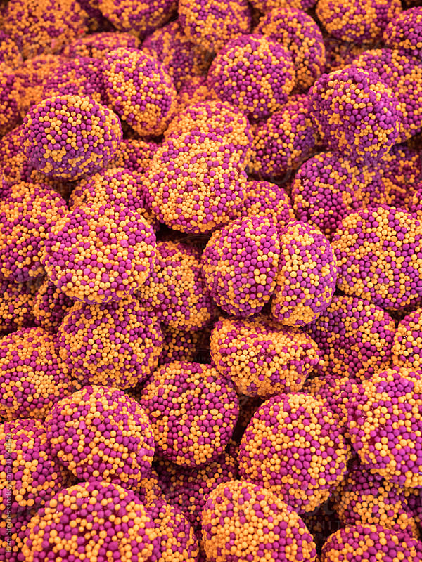 gummy candy covered with nonpareils by Pixel Stories for Stocksy United