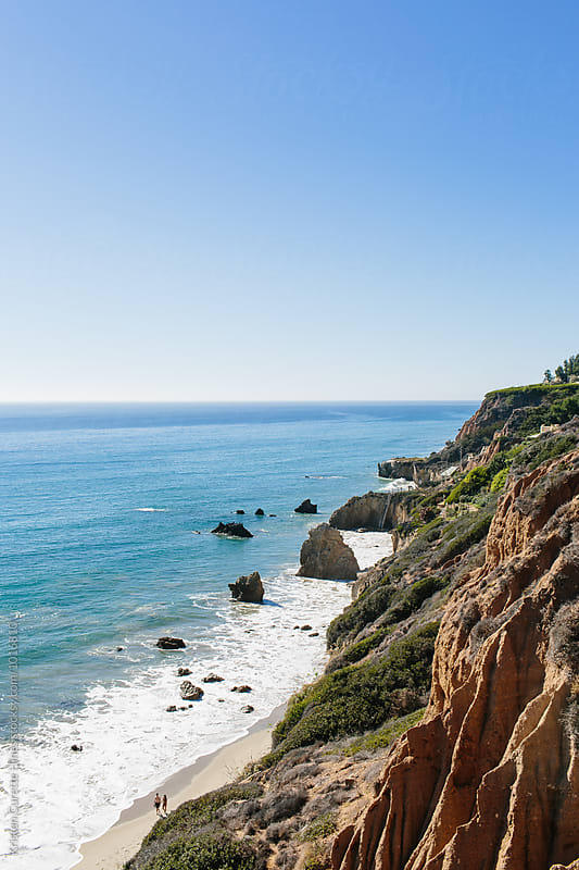 El Matador state park in Malibu Beach by Kristen Curette Hines for Stocksy United