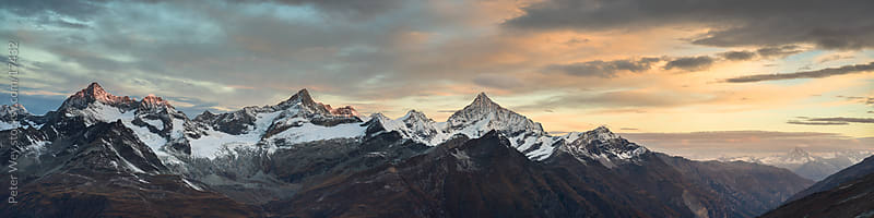 Panorama from Gornergrat by Peter Wey for Stocksy United