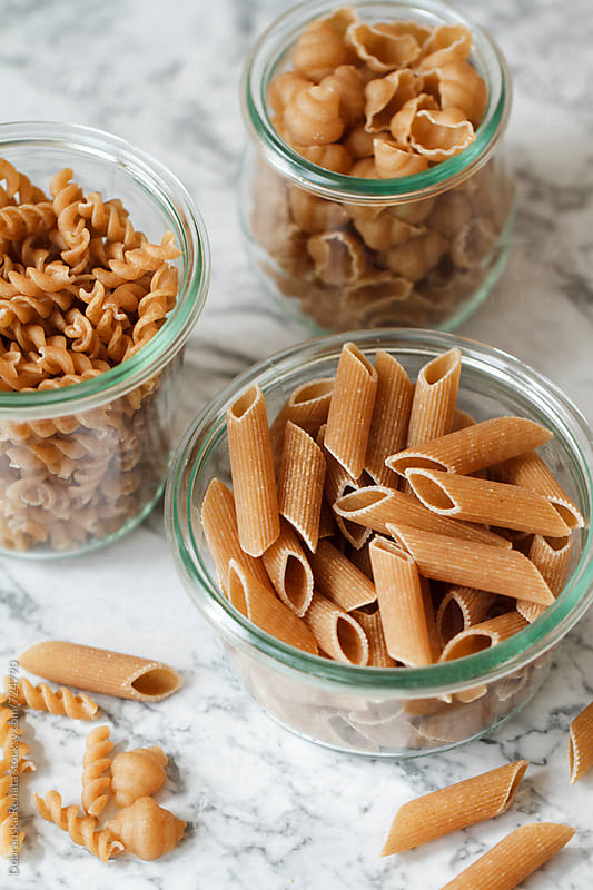 Assorted Whole Grain Pastas by Dobránska Renáta for Stocksy United