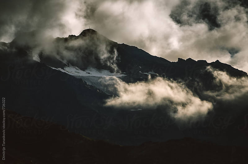 Mountain peaks by Dimitrije Tanaskovic for Stocksy United