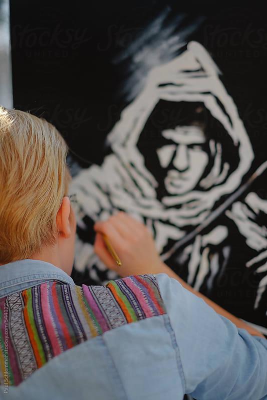 artist by Paul Schlemmer for Stocksy United