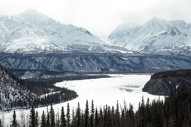 Knik River, Alaska by Michael Spear for Stocksy United