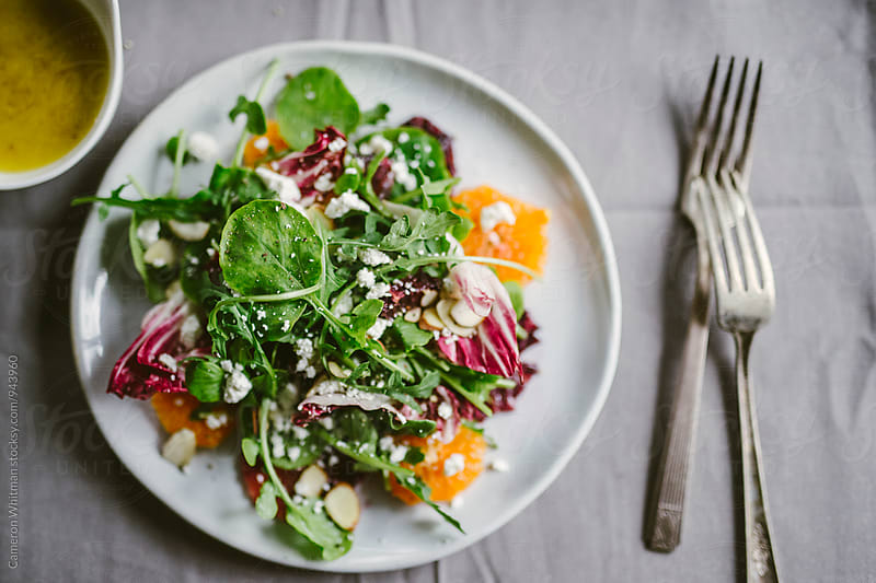 Spring Citrus Salad by Cameron Whitman for Stocksy United