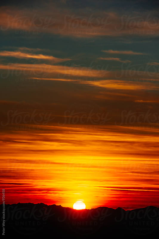 Vivid sunset by Peter Wey for Stocksy United