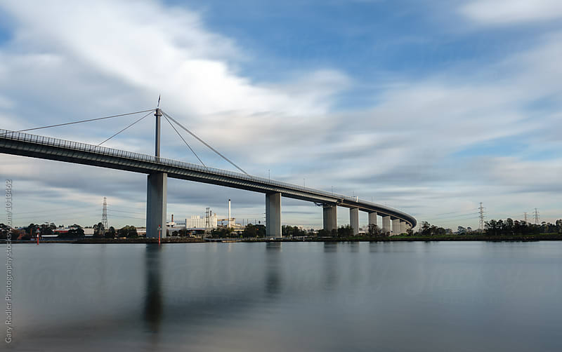 Westgate Bridge, Melbourne, Australia by Gary Radler Photography for Stocksy United
