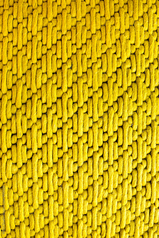 Yellow pattern by MEM Studio for Stocksy United