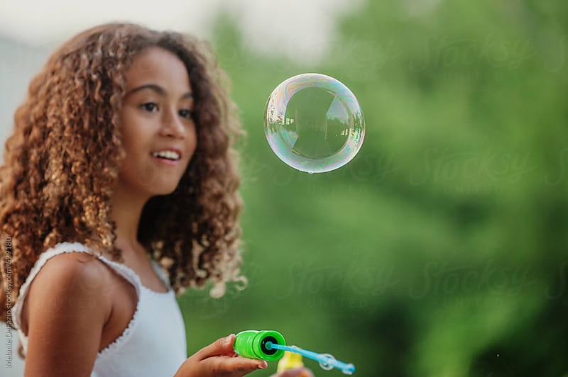 bubbles by Melanie DeFazio for Stocksy United
