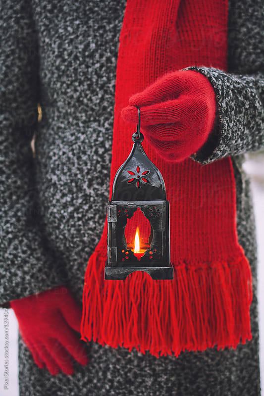 Christmas Lantern by Pixel Stories for Stocksy United