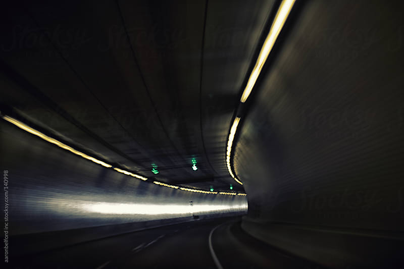 Cruising Through The Tunnel by aaronbelford inc for Stocksy United
