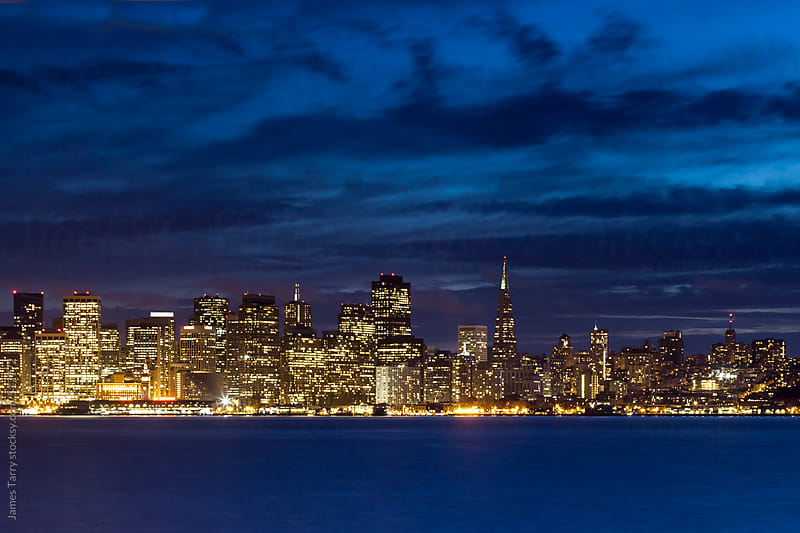 San Francisco Cityscape by James Tarry for Stocksy United