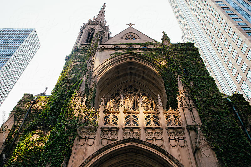 Chicago Downtown Christian Church by Anjali Pinto for Stocksy United