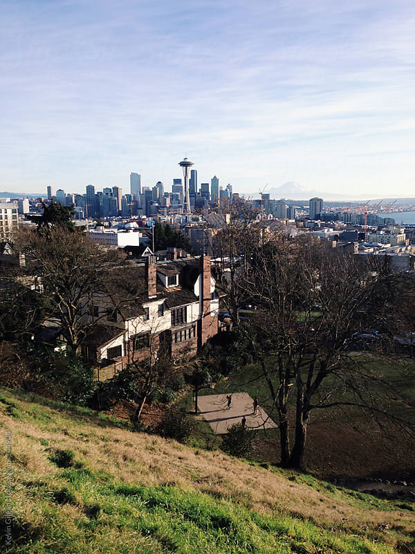 Kerry Park, Seattle by Kevin Gilgan for Stocksy United