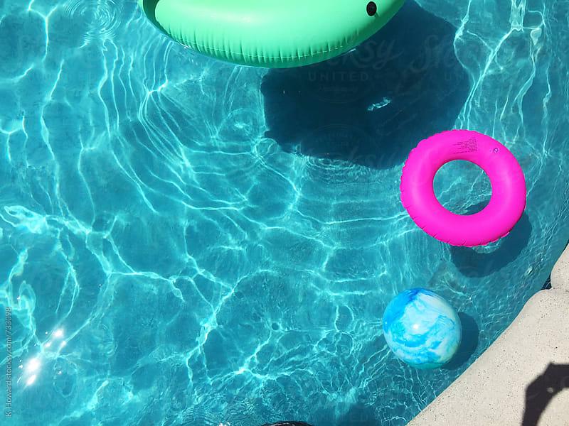 Summer Pool. by K. Howard for Stocksy United