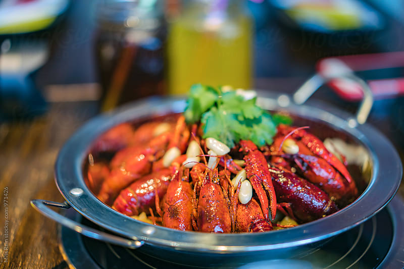 Chinese Crayfish by Miss Rein for Stocksy United