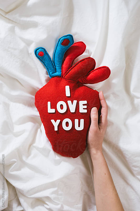 I love you by CACTUS Blai Baules for Stocksy United