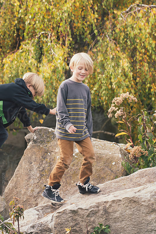 playing by Rebecca Rockwood for Stocksy United