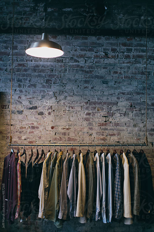 Rack of clothing by Jeff Marsh for Stocksy United