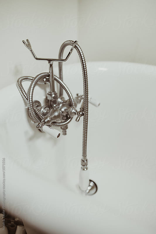 Bathtub Details by Isaiah & Taylor Photography for Stocksy United