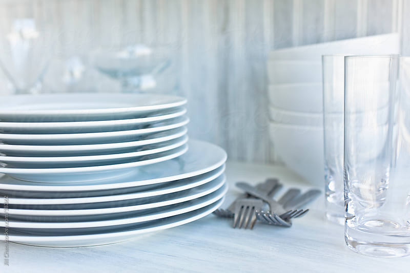 White Dishes by Jill Chen for Stocksy United