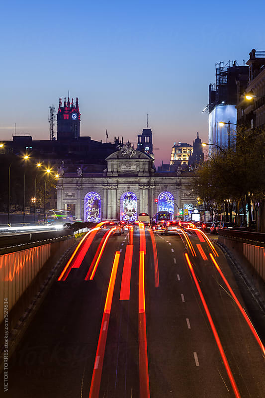 Alcala Gate, Madrid by VICTOR TORRES for Stocksy United