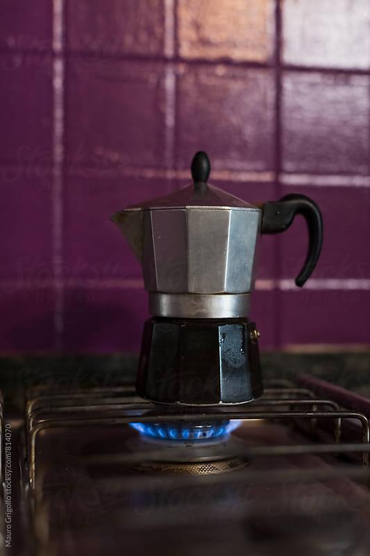 Making Coffee by Mauro Grigollo for Stocksy United