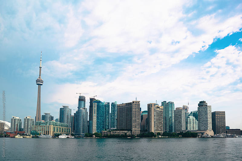 Toronto Skyline by Good Vibrations Images for Stocksy United