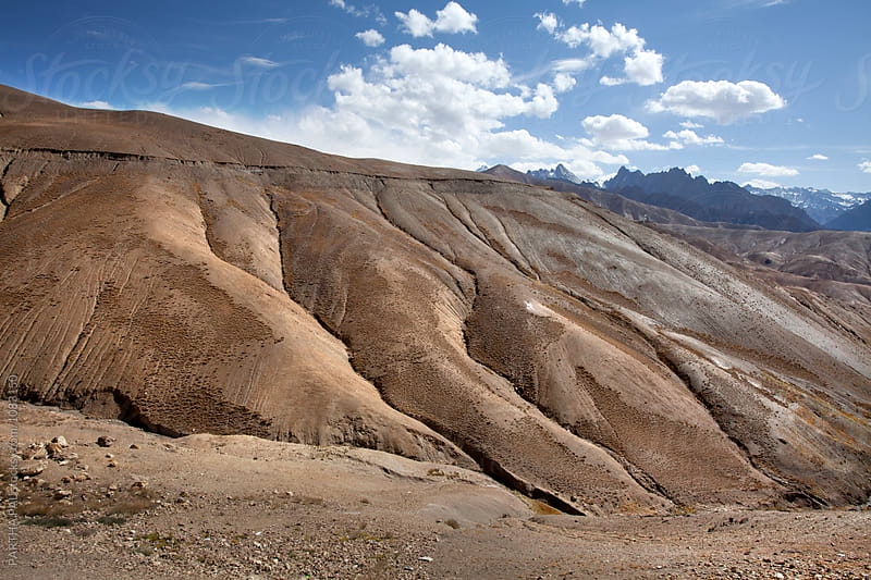Unique and barren  landscape of Ladakh by PARTHA PAL for Stocksy United