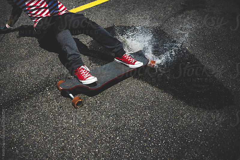 Longboarder by Kirill Orlov for Stocksy United