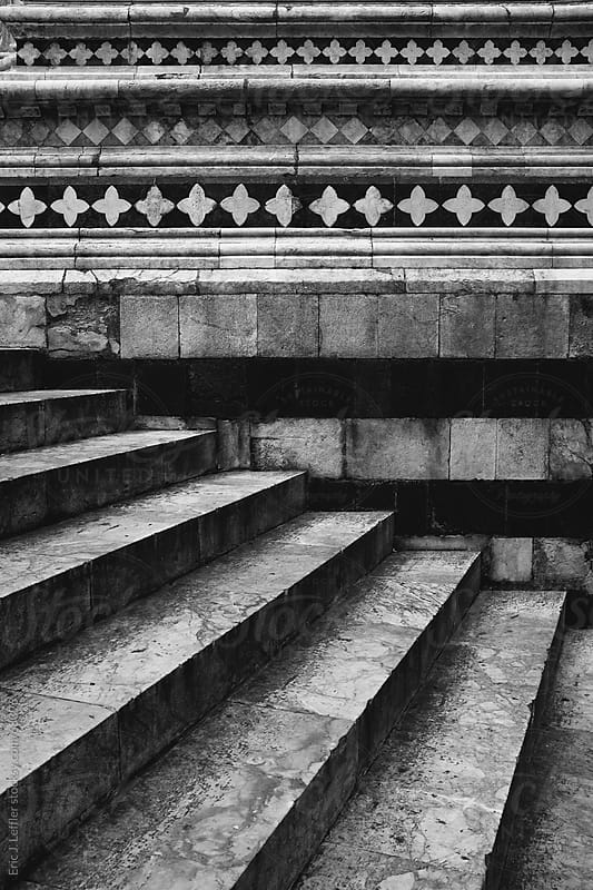 Stairs at Italian Church by Eric James Leffler for Stocksy United
