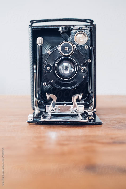 Vintage camera by Sam Burton for Stocksy United