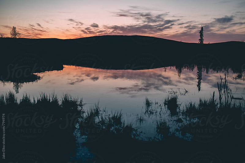 Northern Sunset  by Jake Elko for Stocksy United