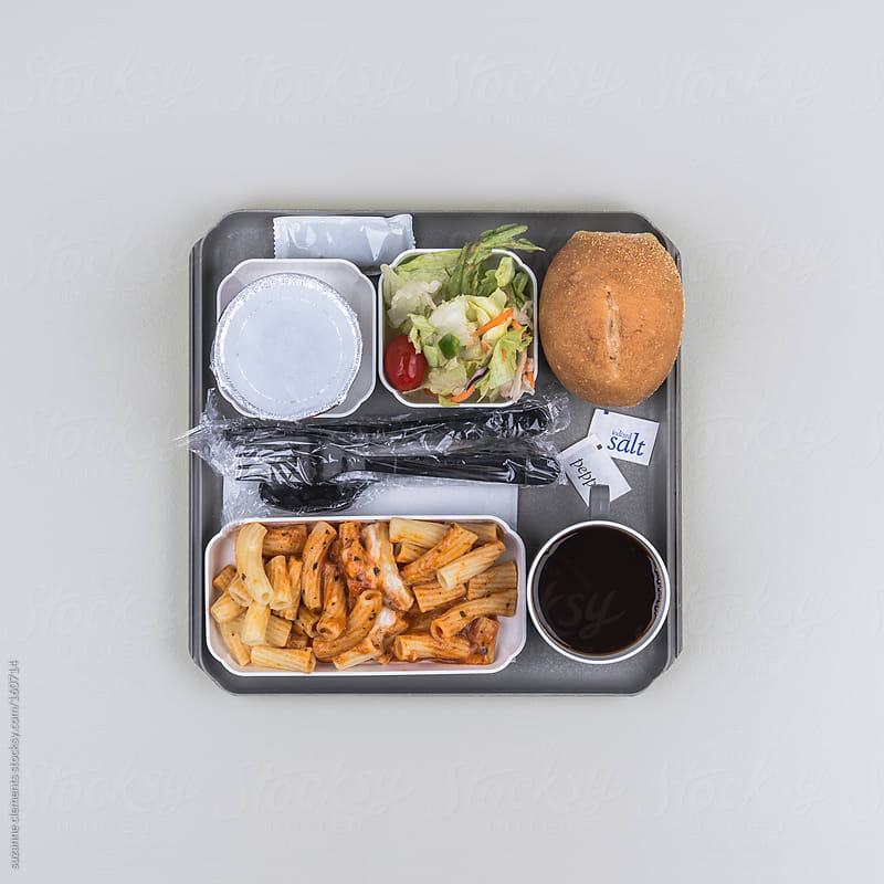This Airline Meal Only Looks Good When You're Trapped on a Long Flight by suzanne clements for Stocksy United