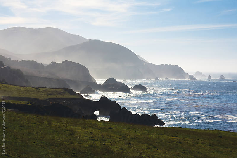 Landscape of Big Sur, California by Sara Remington for Stocksy United