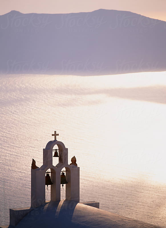 Beautiful churches of Santorini. Greece. by Hugh Sitton for Stocksy United
