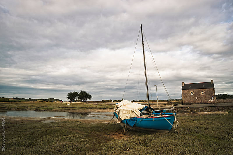 Low tide in Brittany  by GIC for Stocksy United