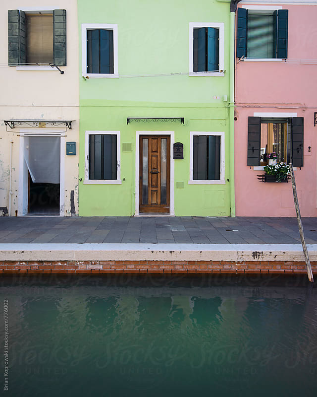 Burano Buildings by Brian Koprowski for Stocksy United