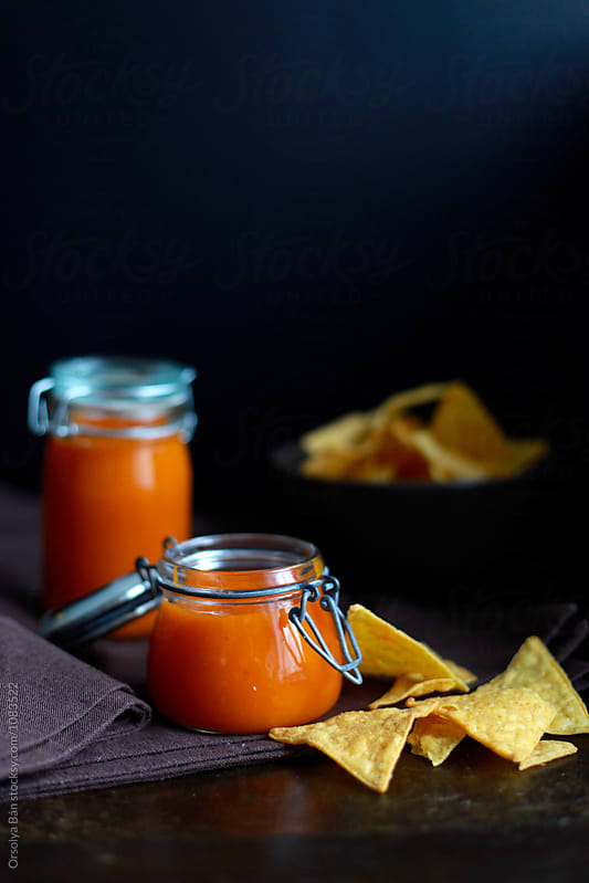 Pumpkin sauce  by Orsolya Bán for Stocksy United