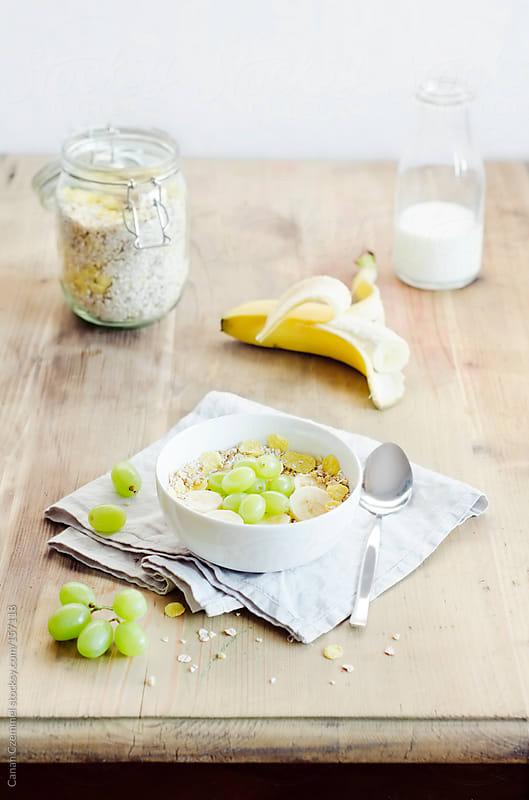 cereal breakfast by Canan Czemmel for Stocksy United