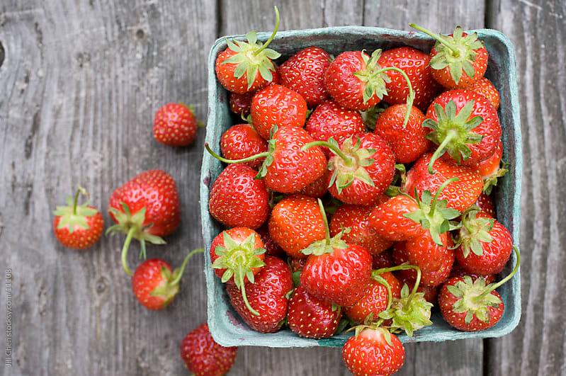 Farm Fresh Berries by Jill Chen for Stocksy United