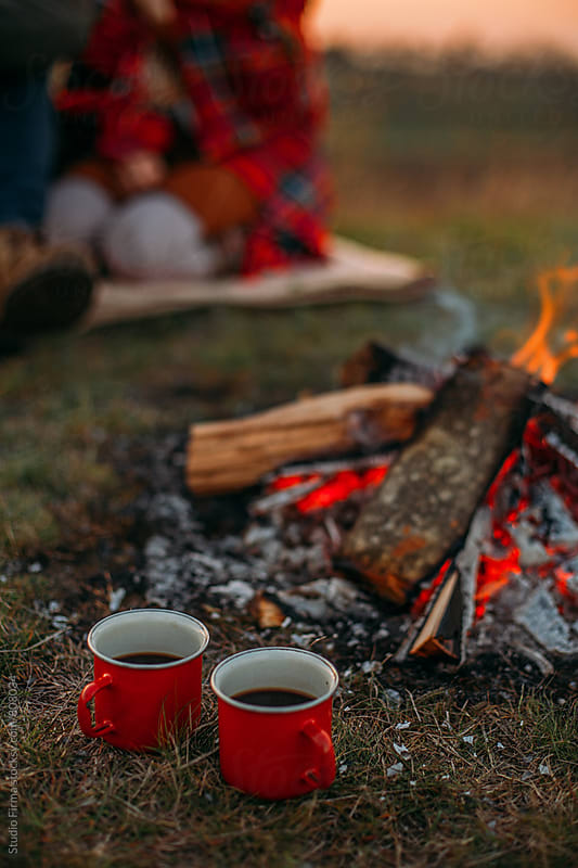 Fall Camping  by Studio Firma for Stocksy United