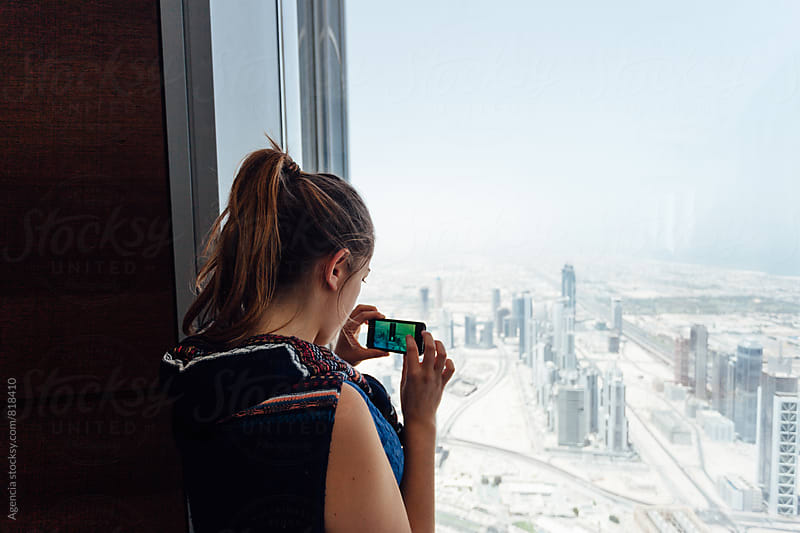 View of Dubai by Agencia for Stocksy United